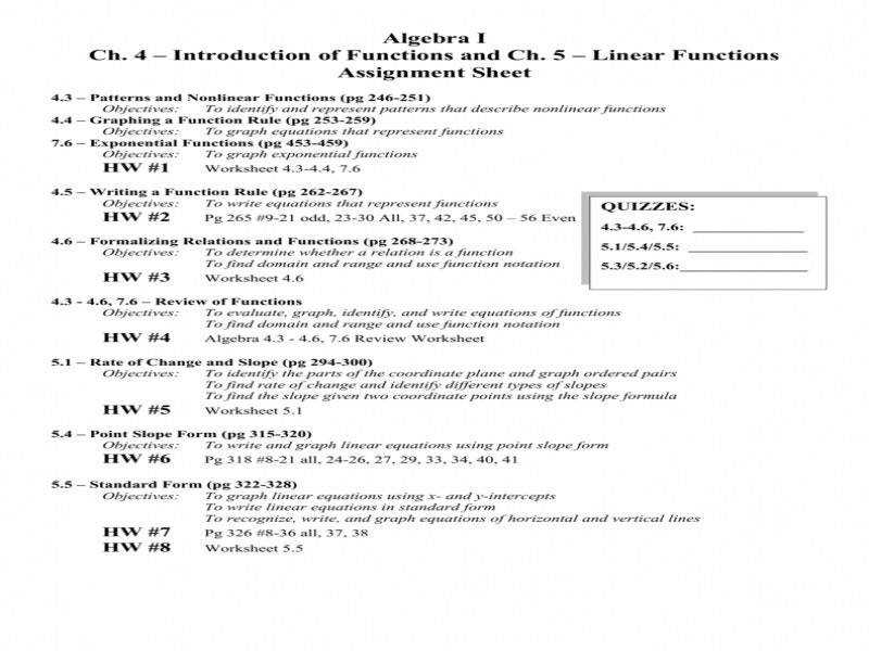 Algebra 1 Function Notation Worksheet Fit 800 2c600 Ssl Concept Enchanting