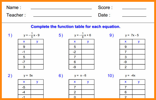 function table worksheets thumb 3 10 function table worksheets