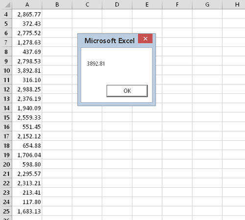 Using a worksheet function in your VBA code