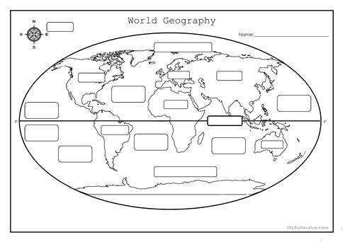 World Geography Full screen
