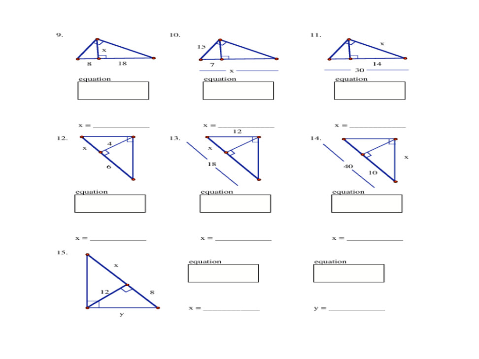 Small • Medium • Worksheet Geometry