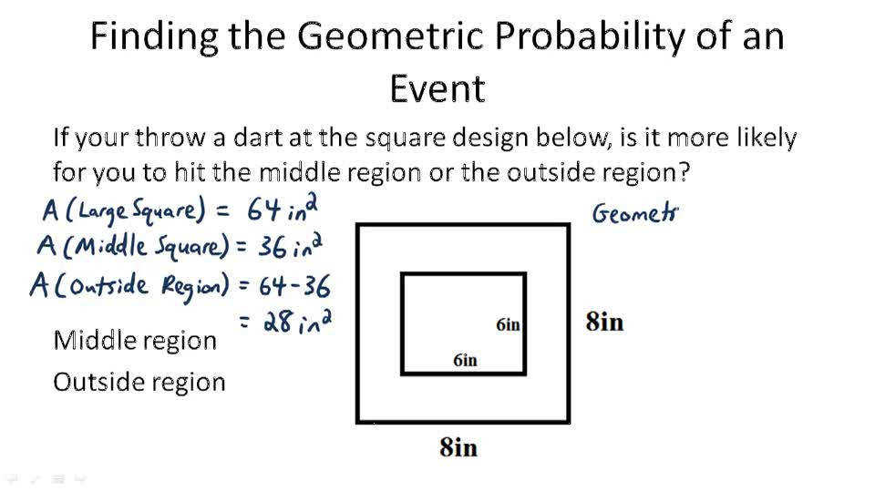 Geometric Probability Distributions Video Probability