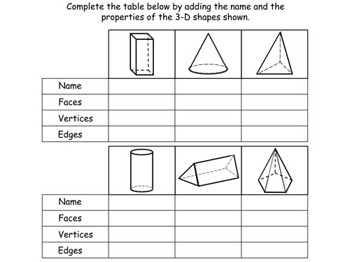 Geometry Properties of Shapes Year 3 Teaching Pack 4 PowerPoint presentations and worksheets by Teacher of Primary Teaching Resources Tes