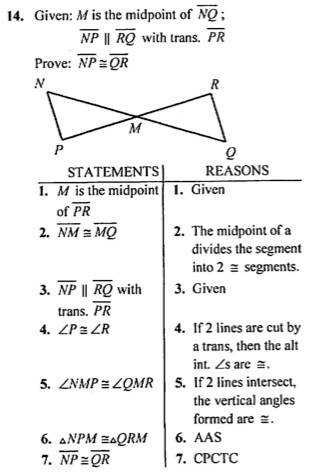 Free Geometry Proofs Worksheets Printables · Midsegments in Triangles Paper Folding Activity