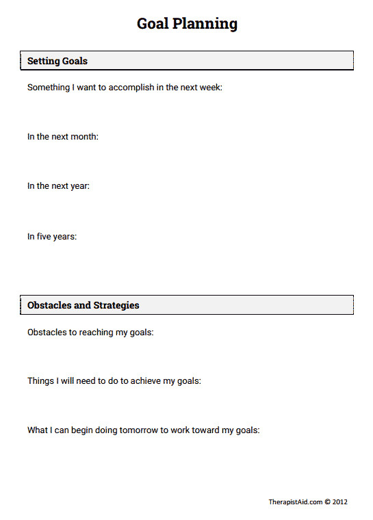 Goal Planning Preview