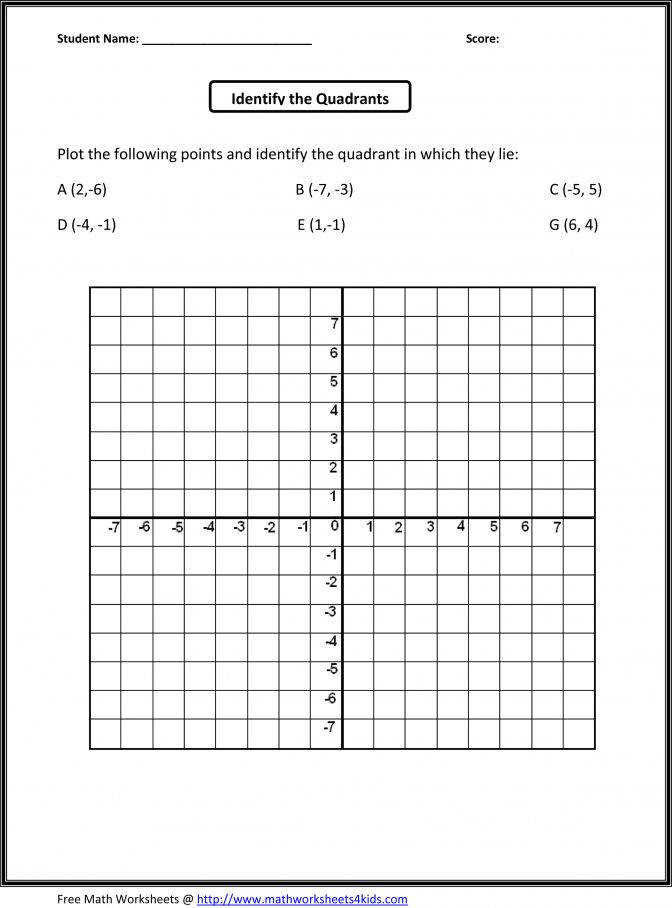 Free Worksheet Math Plotting Points Worksheets Atidentity For 8th Grade Pre Algebra 233ce9cfbc d19dd9 Math Worksheets