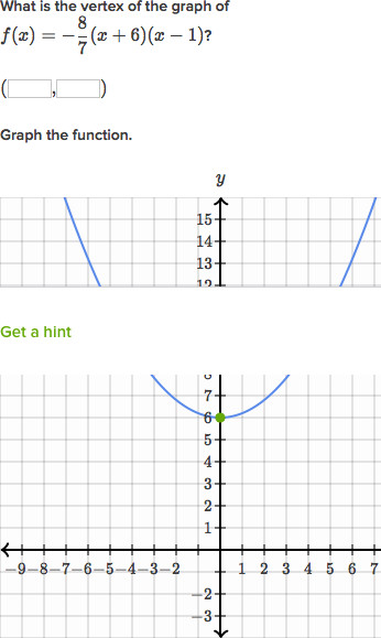 graph quadratic functions in factored form