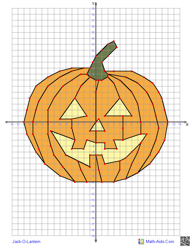 Four Quadrant Graphing Characters Worksheets