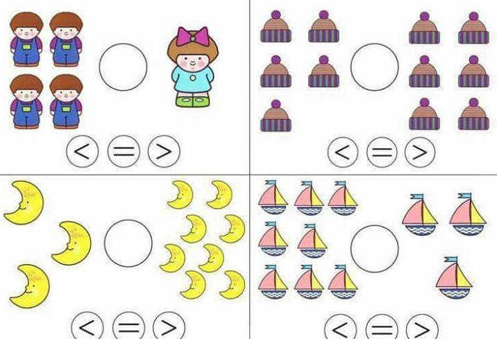 greater or less than worksheets for kindergarten free less than greater than worksheets 1