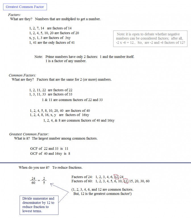 Math Plane Greatest mon Factor Gcf Least Multiple 6th Grade Lcm Worksheets Mathplane Greatest mon Factor