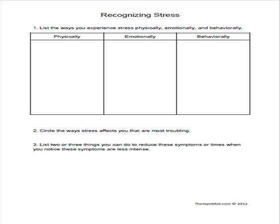 Group Therapy Worksheets Homeschooldressage Com