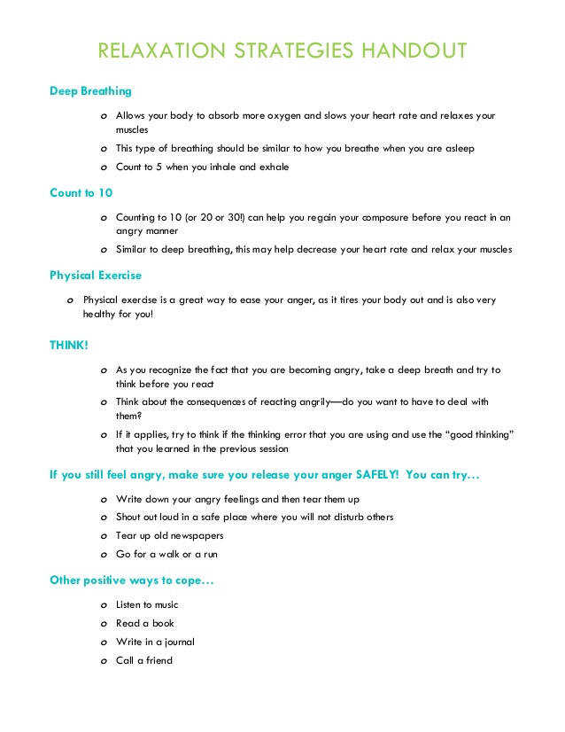 group therapy worksheets Yahoo Image Search Results