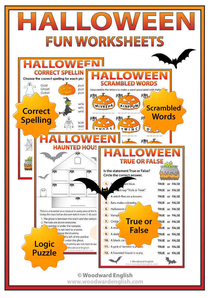 free vocabulary worksheets halloween worksheets in printable kids halloween for 00 6 4 halloween worksheets
