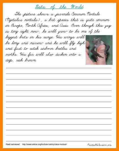 Handwriting for adults worksheets cursive