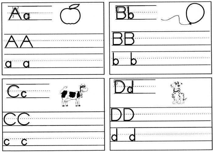 Handwriting Pages To Print For Free Home Schooled Children Handwriting SheetsHandwriting