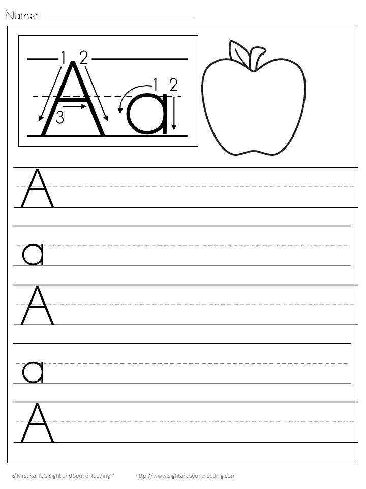 Handwriting Free Handwriting Practice Worksheets for Kids