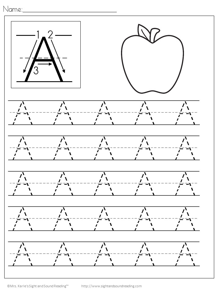 Kids Handwriting Worksheets Download the entire alphabet at one time and help your child learn