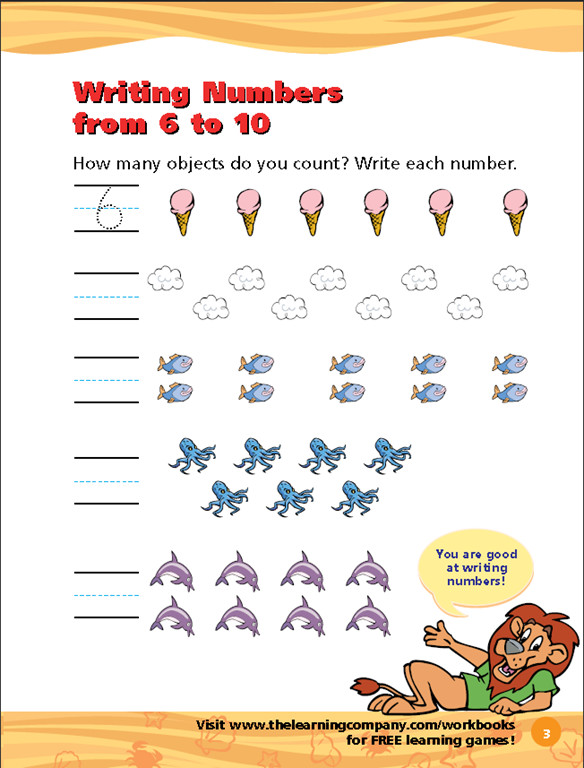 Houghton Mifflin Harcourt Math Worksheets Features Full Color