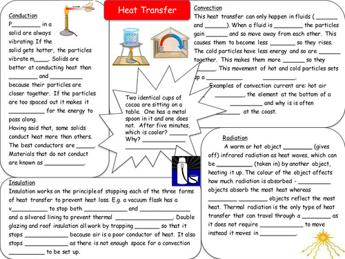 Heat Transfer Worksheet Homeschooldressage. All Worksheets Energy Transfer Middle School Heat Revision Resources By Sea Teaching. Worksheet. Penguin Heat Transfer Worksheet At Clickcart.co