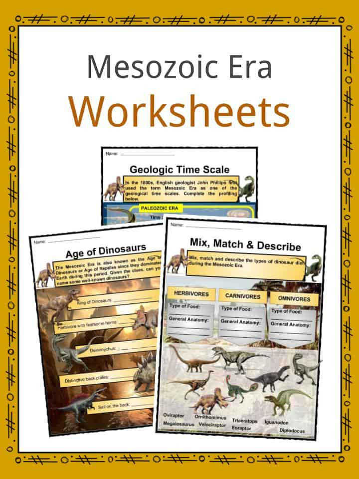 Mesozoic Era Facts & Worksheets