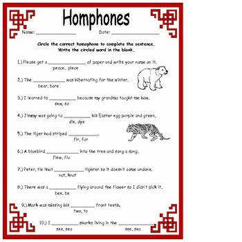 Ideas Collection Homonyms Worksheets For 2nd Grade Also Proposal