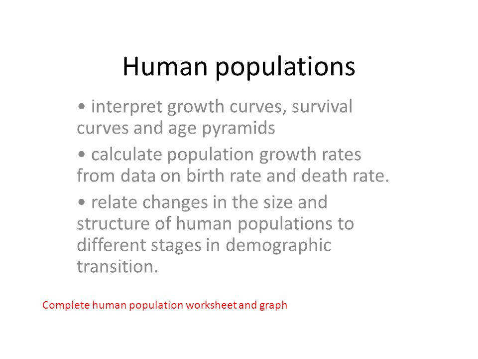 2 Human populations interpret growth
