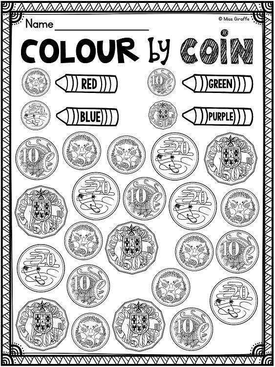 Identifying Coins Worksheets Homeschooldressage Com