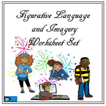 Figurative Language and Imagery Worksheet Set