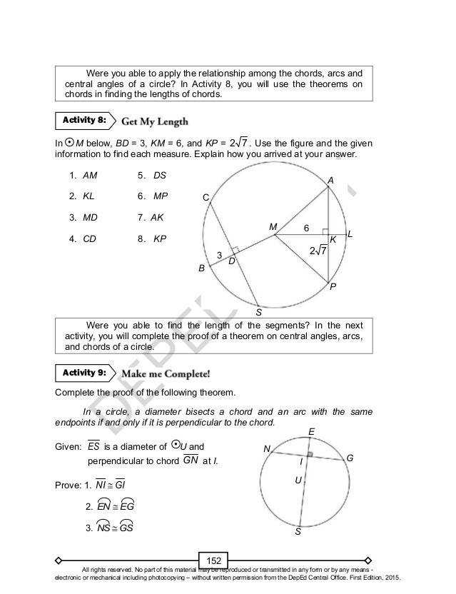 Inscribed Angles Worksheet Homeschooldressage Com