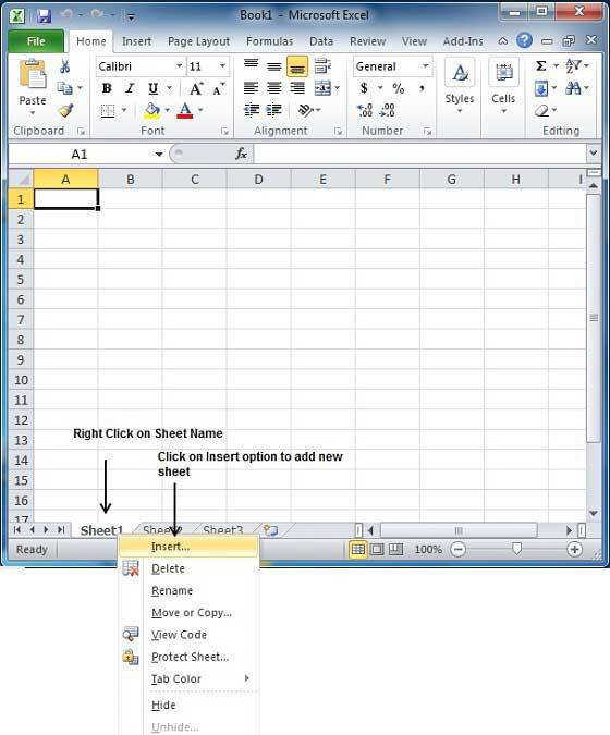 Shift F11 Excel Shortcut Insert New Worksheet into Current