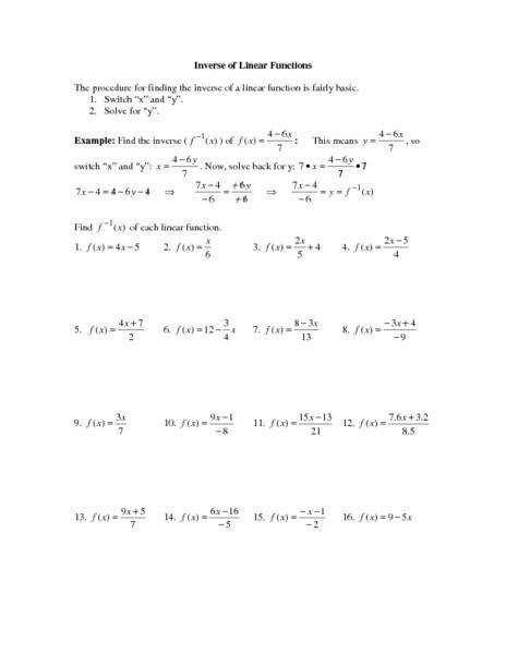 Person Puzzle Inverse Functions Alicia by 21st Century Trigonometry Inverse Function Worksheet