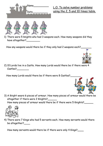 multiplication word problems year 2