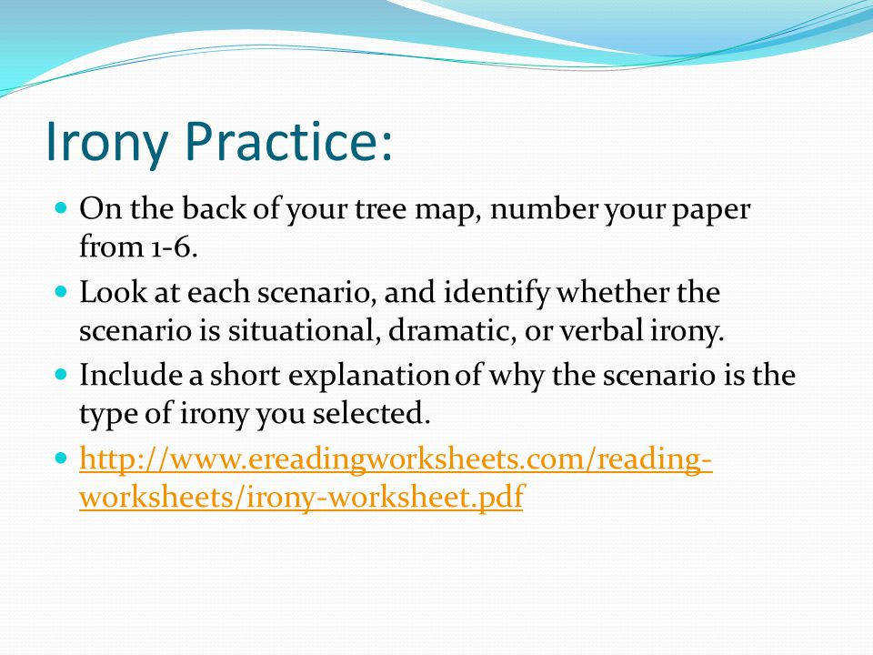 Irony Worksheet Worksheets for all | Download and Share Worksheets ...