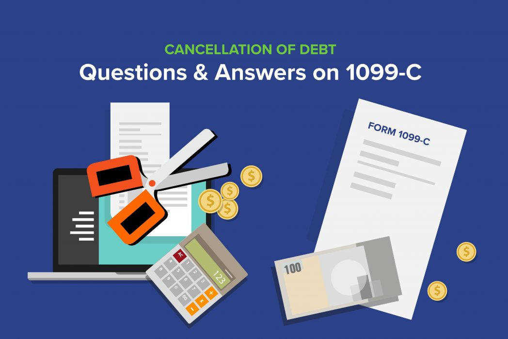 Cancellation Debt Questions Answers 1099 C munity Tax Irs Form 982 Credit Card Cover