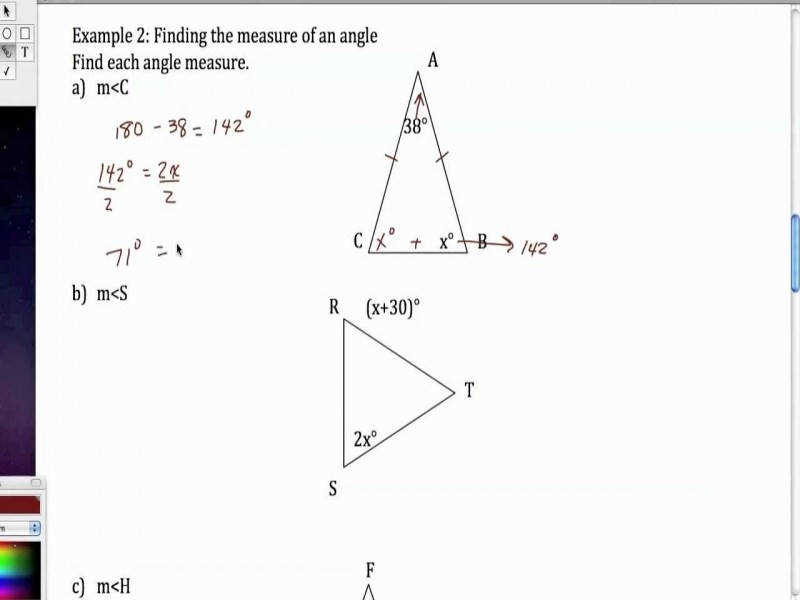 Isosceles And Equilateral Triangles – Youtube