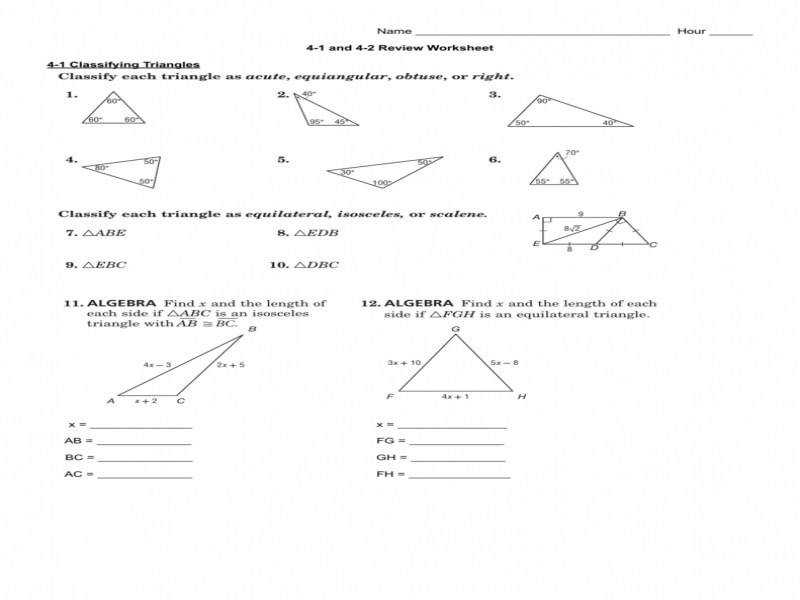 4 1 And 4 2 Review Worksheet
