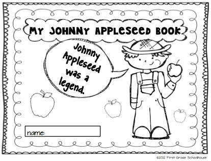 Johnny Appleseed and Fun with Apples by First Grade Schoolhouse FIRST GRADE $ Johnny