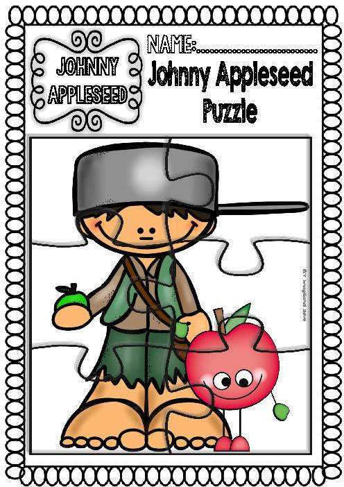 Johnny Appleseed Readings and Printables Funny Set