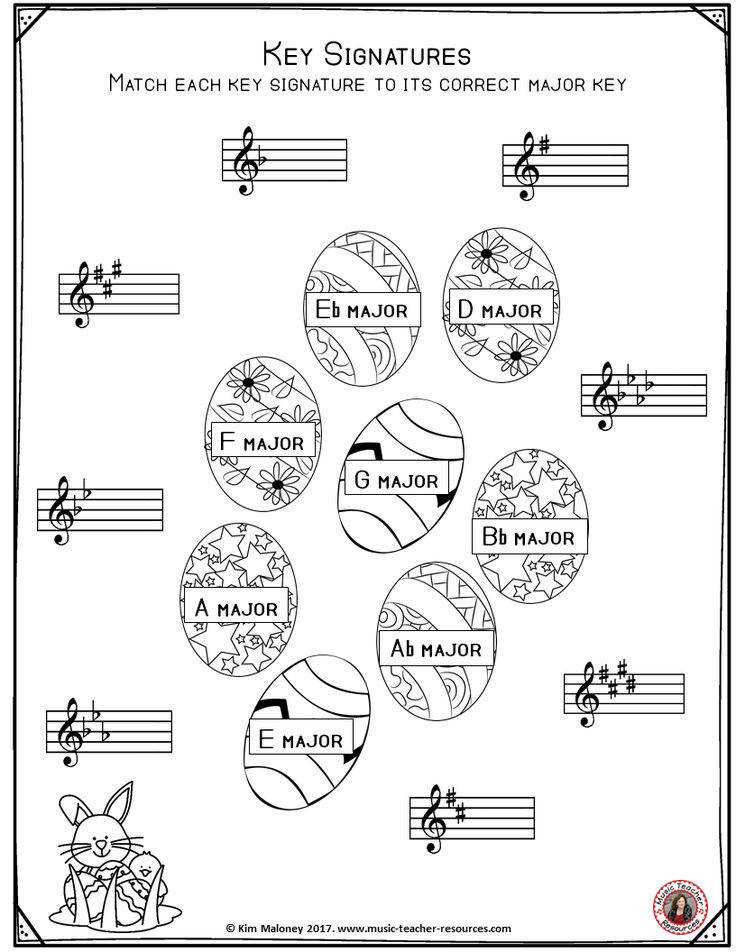 FREE Music Worksheet
