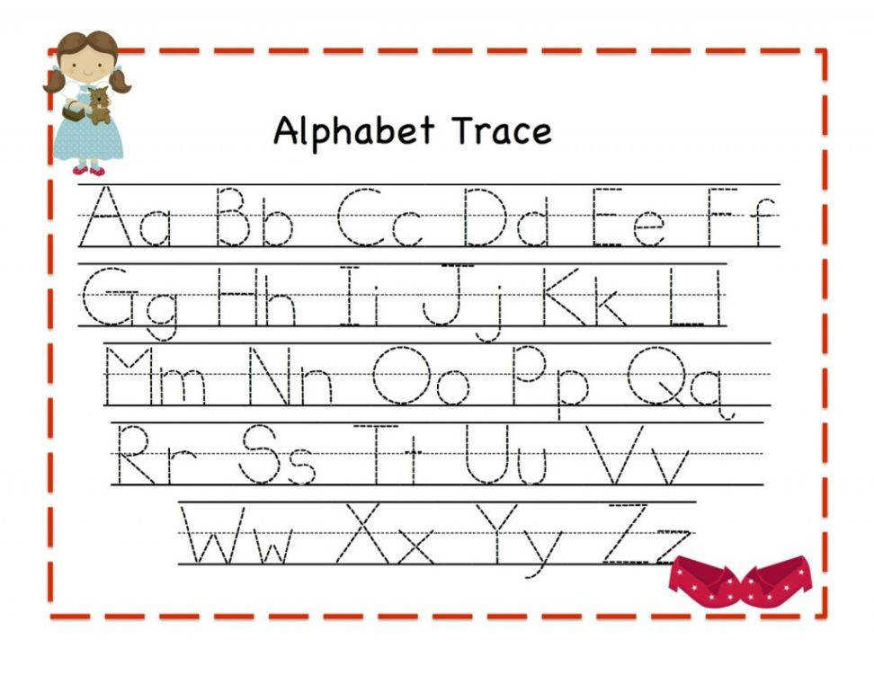 free printable worksheets letter tracing