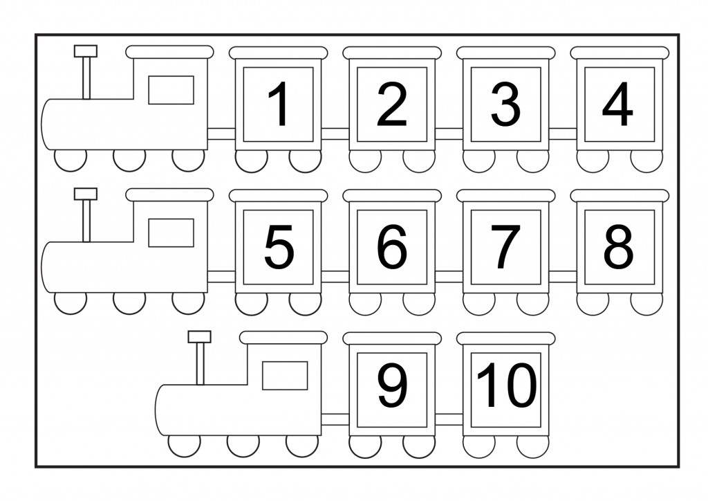 Numberheets Free Activity Shelter Printable Recognition For Kindergarten Counting Preschool Math Number Worksheets 1 10