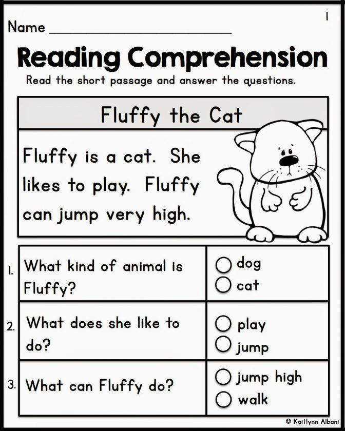 Kindergarten Reading prehension Worksheets Kelpies Fo Reading prehension Worksheet For Kindergarten Worksheet Medium