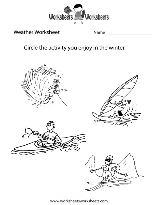 Weather Worksheet For Kids Printable Fun Worksheets Pinterest C cb8fb2a3f1facc993a6cb Free Printable Science Worksheets For Kindergarten Worksheet