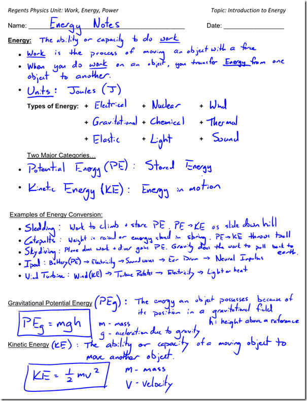 Printables Worksheet Kinetic And Potential Energy Problems kinetic energy worksheet davezan calculating and potential problems woodleyshailene