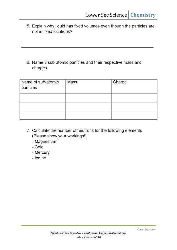 Kinetic Molecular Theory Worksheet Homeschooldressage Com
