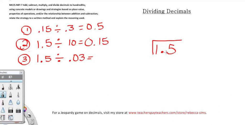 Dividing Decimals Problems 5th Grade Math Youtube Worksheets Multiplication And Division Multiplying With Answers 7th
