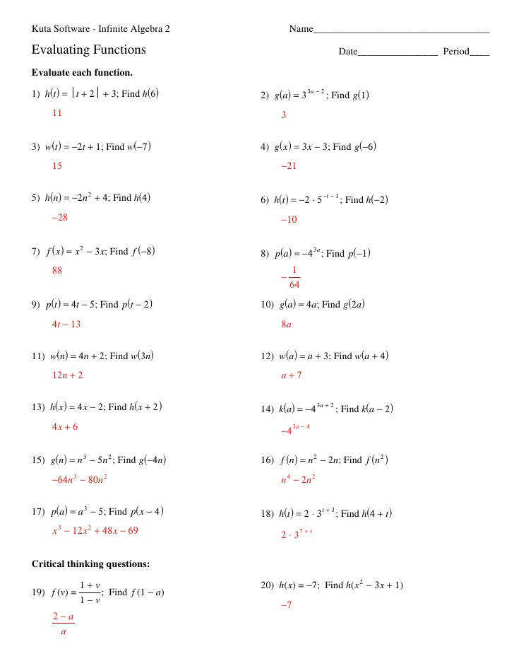 Kuta Math Worksheet Math Worksheet Kuta Math Worksheets Percents