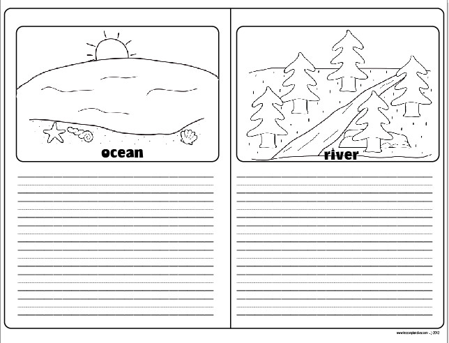 Landforms and Bo s of Water FREEBIE The Lesson Plan Diva