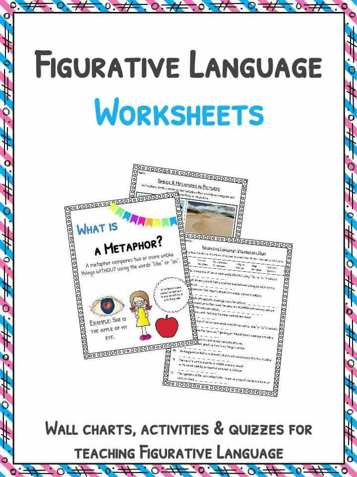 Download the Figurative Language Worksheets & Examples