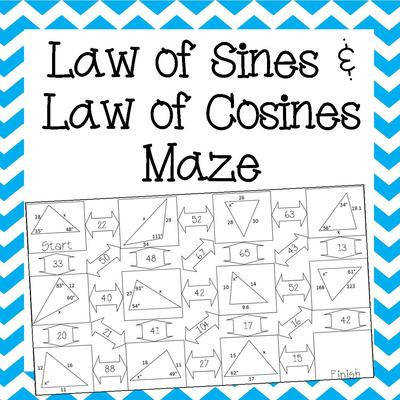 UIAPK3TLBIWFDQJ Law of Sines and Cosines Maze Cover 2
